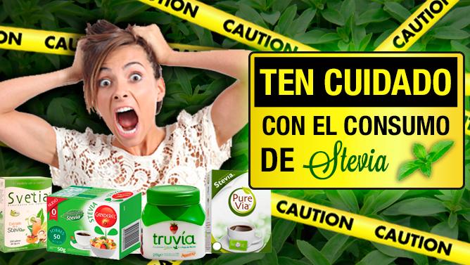 ¡Ten cuidado con el consumo de Stevia!