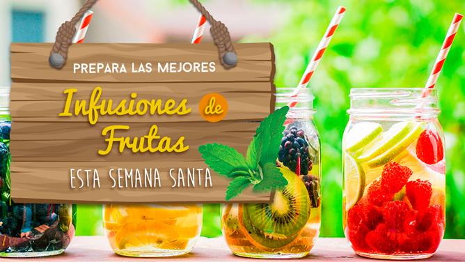 Prepara las mejores infusiones de frutas esta Semana Santa