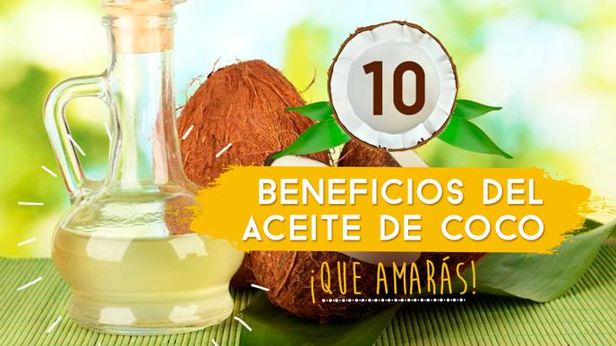 10 Beneficios del aceite de coco ¡Que amarás!