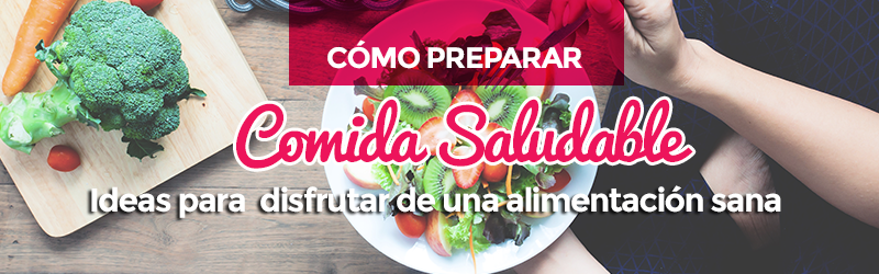 preparar comida saludable y faciles