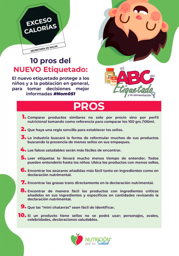 Etiquetado en México 2020