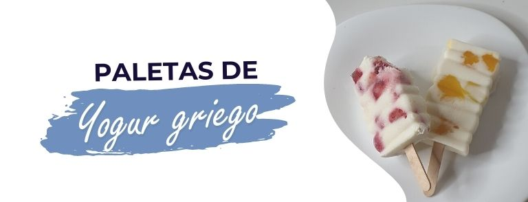 paletas saludables de yogurt