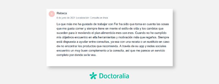 Testimonios de Doctoralia